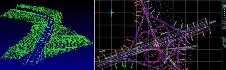 نقشه برداری مسیر و قوس ها در راهسازی